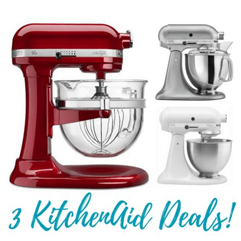 Kitchen Aid Mixer Deals by 3 Kitchenaid Stand Mixer Deals At Kohl S Free Shipping
