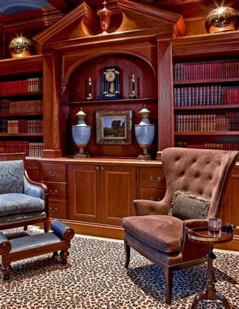 elegant house library  fabulous design ideas interior