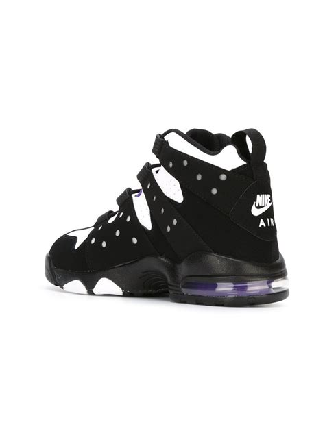 sneakers nike air max lyst nike air max hi top sneakers in black