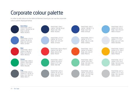 Pantone Color Pallete am brandbook by aika page 28 issuu