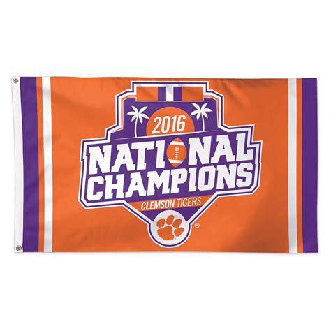 nationwide football annual 2016 2017 1907524525 clemson tigers 2016 college football national chions hats shirts for men women and kids