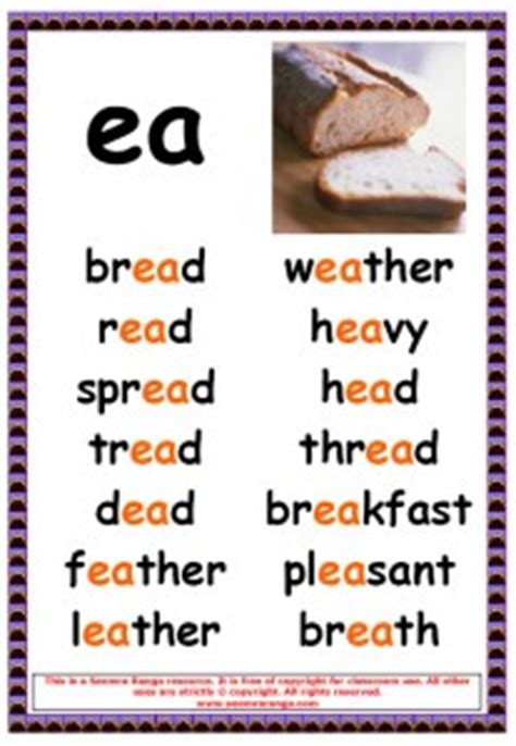 ea as in bread worksheets ee and ea worksheets and flashcards ee and ea phonics resources for year 1 and year 2