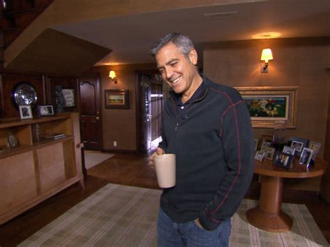 george clooney house george clooney shows his house on cbs celebrity cribs