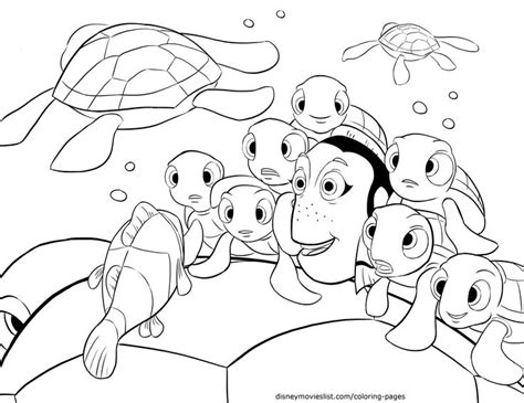 coloring pages finding nemo 41 best images about colouring finding nemo on pinterest