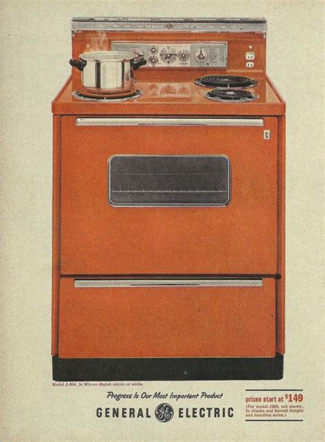 general electric kitchen appliances 1000 images about 1960s kitchen on pinterest