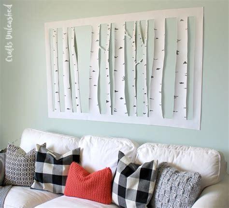 top diy dollar store wall art make aspen tree wall 187 dollar store crafts