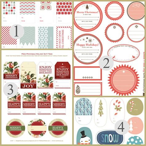 printable round christmas gift tags free printable christmas gift tags christmas printables