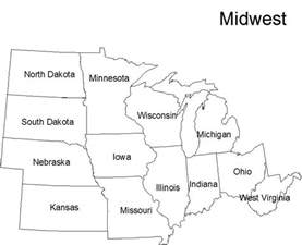 free coloring pages of midwest region