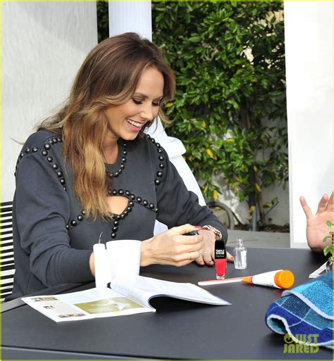 stacy keibler engagement ring stacy keibler gives herself a manicure before her wedding