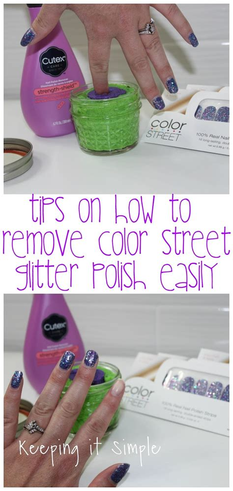 color tips tips on how to remove color nails easily keeping