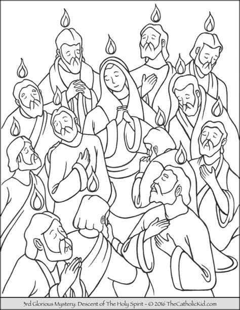 Holy Spirit Coloring Pages For Children by Holy Spirit Archives The Catholic Kid Catholic