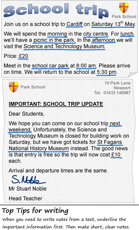 Excursion Trip Essay by The School Trip Learnenglish Council