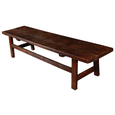 jefferson bench country coffee table bench at 1stdibs