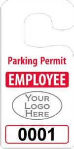 parking permit templates parking pass template wordscrawl