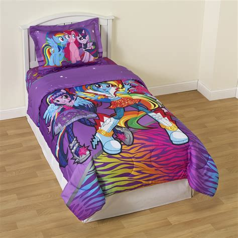 my little pony twin bedding my little pony girl s twin reversible comforter sham