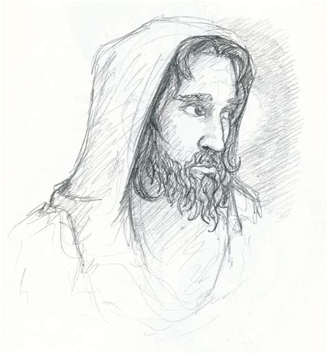 Easy To Draw Jesus by The Gallery For Gt Jesus Drawing Easy