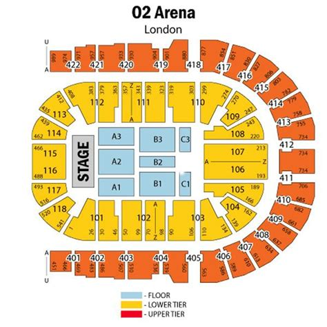 the o2 floor plan o2 seat plan for strictly come at o2 arena