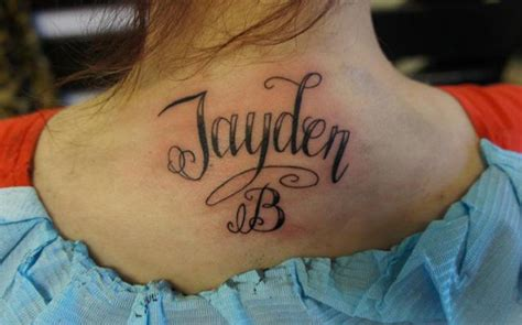 name tattoo on neck design cr tattoos design neck name tattoos designs neck pictures