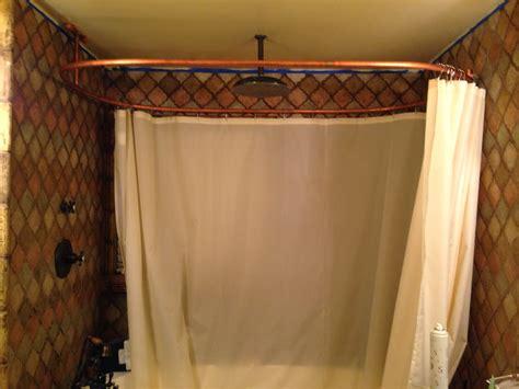 custom shower curtain rods custom shower rods randolph morris 180 x 70 shower