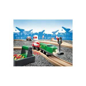 remote control trains railroad brio wooden train set 33517 remote control trains railroad brio wooden train set 33517