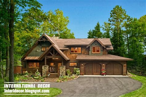 Rustic Farmhouse Plans by Farmhouse In The Woods With A Rustic Interior