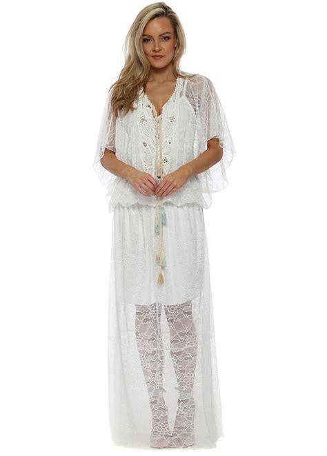 Laurie Dress laurie joe white lace maxi dress