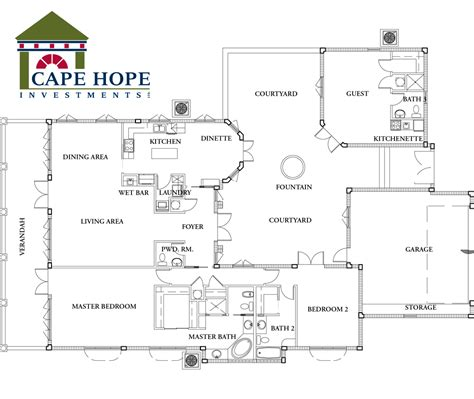 Spanish Floor Plans | spanish style home plans http www capehopebahamas com