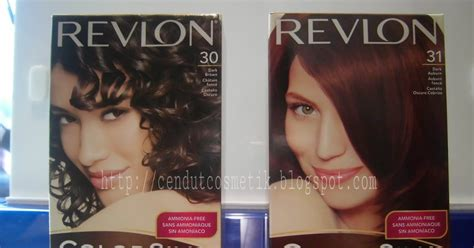 Revlon Warna Rambut cendutcosmetik toko cat rambut revlon contoh warna