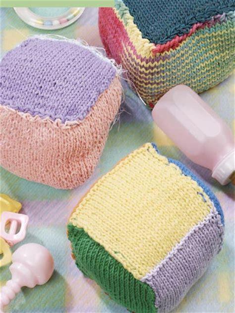 knitted baby blocks free baby knitting patterns colorful baby blocks free