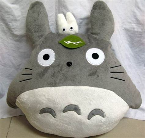 Totoro Pillow by Totoro Bed Japanese Anime Plush Cushion Bed
