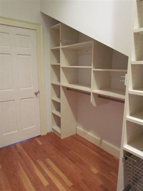Atlanta Closet Storage Solutions Sloped Ceilings Sloped Ceiling Closet