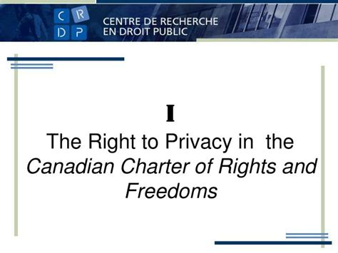 charter of rights and freedoms section 8 ppt transborder data flows and privacy considerations