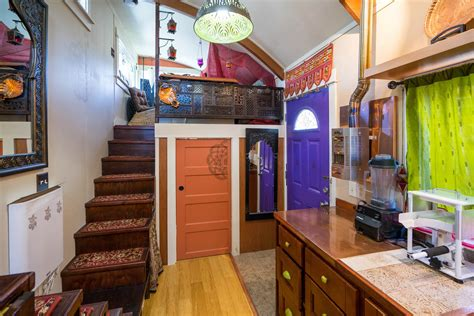 Lilypad Tiny House The Lilypad Tiny House In Portland Features Two Loft