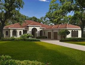 one story houses exterior one story home pictures this one story mediterranean style waterfront home features
