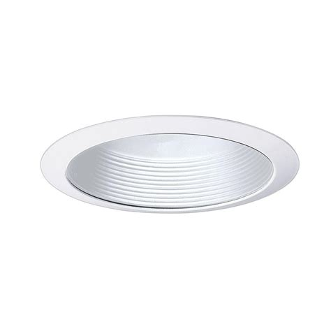 all pro 5 in white recessed lighting baffle trim