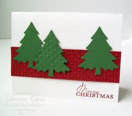 handmade christmas cards set of 6 traditional rustic