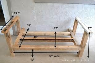 How to build build wood outdoor couch pdf plans