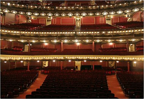 bank of america theater seating 15 best images about theatre auditoria on