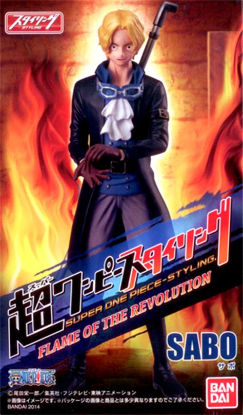 Figure One Sabo Styling bandai one anime styling of revolution