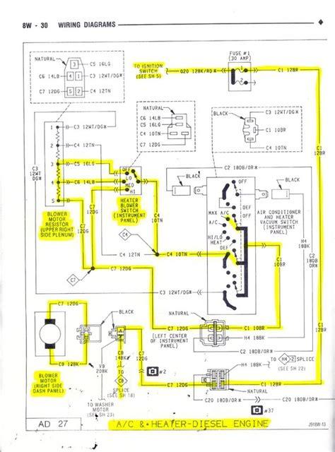 blower motor relay dodge diesel diesel
