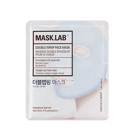 Masker Shop Di Korea the shop mask lab wrap mask 25g korean