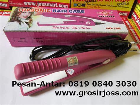 Catok Rambut Mini Topsonic jual alat catok mini rambut kering ping colour asli impor