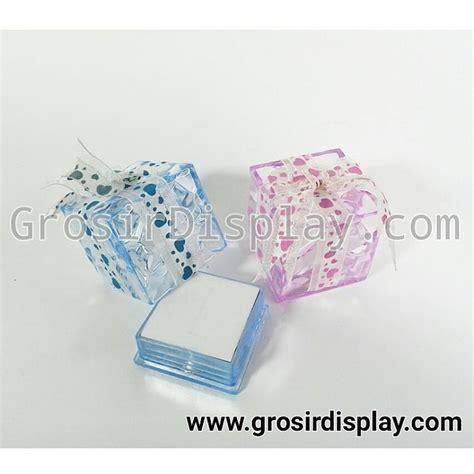 Kotak Pita kotak cincin box ring pita warna warni grosir display