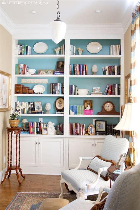 cottage library study the lettered cottage bookcases bookshelves bookcases