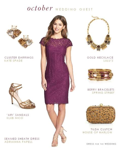 what to wear for fall wedding guest what to wear to an october wedding october and weddings