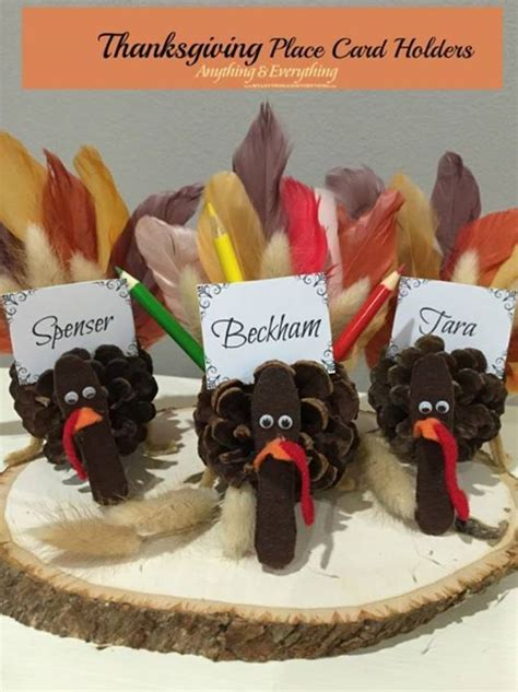 Thanksgiving Place Card Holder Templates by Thanksgiving Place Card Holders Http Thenymelrosefamily