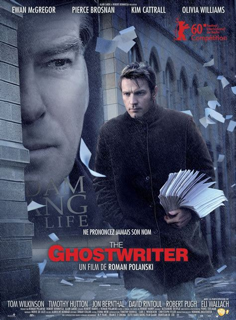 the ghost writer movie the ghost writer film 2010 senscritique
