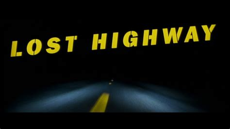 Lost Highway pin lost highway dvd on