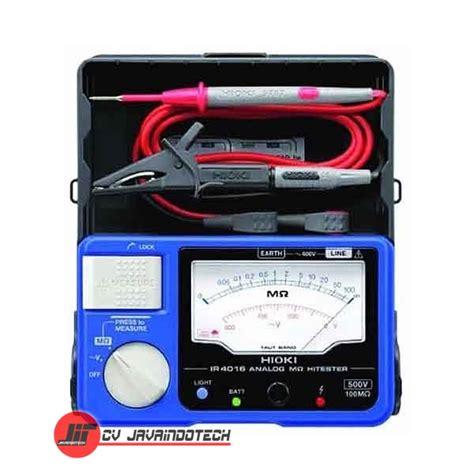 Jual Multimeter harga jual hioki ir401620 analog megohm meter hitester 100