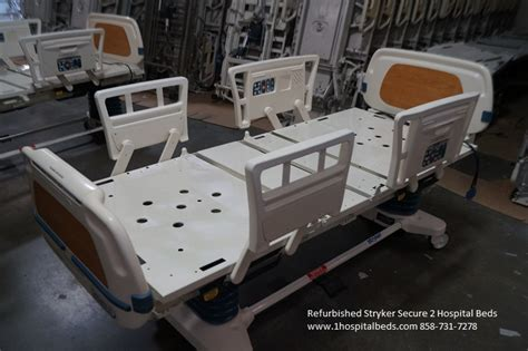stryker hospital bed refurbished stryker secure ii secure 2 hospital beds for
